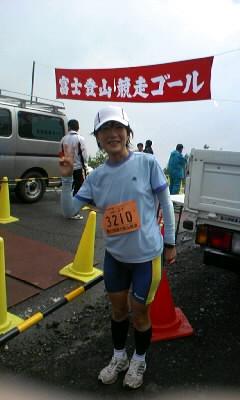 富士山登山競争速報