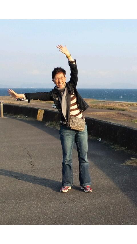 明日の健闘を祈って(^_^)v